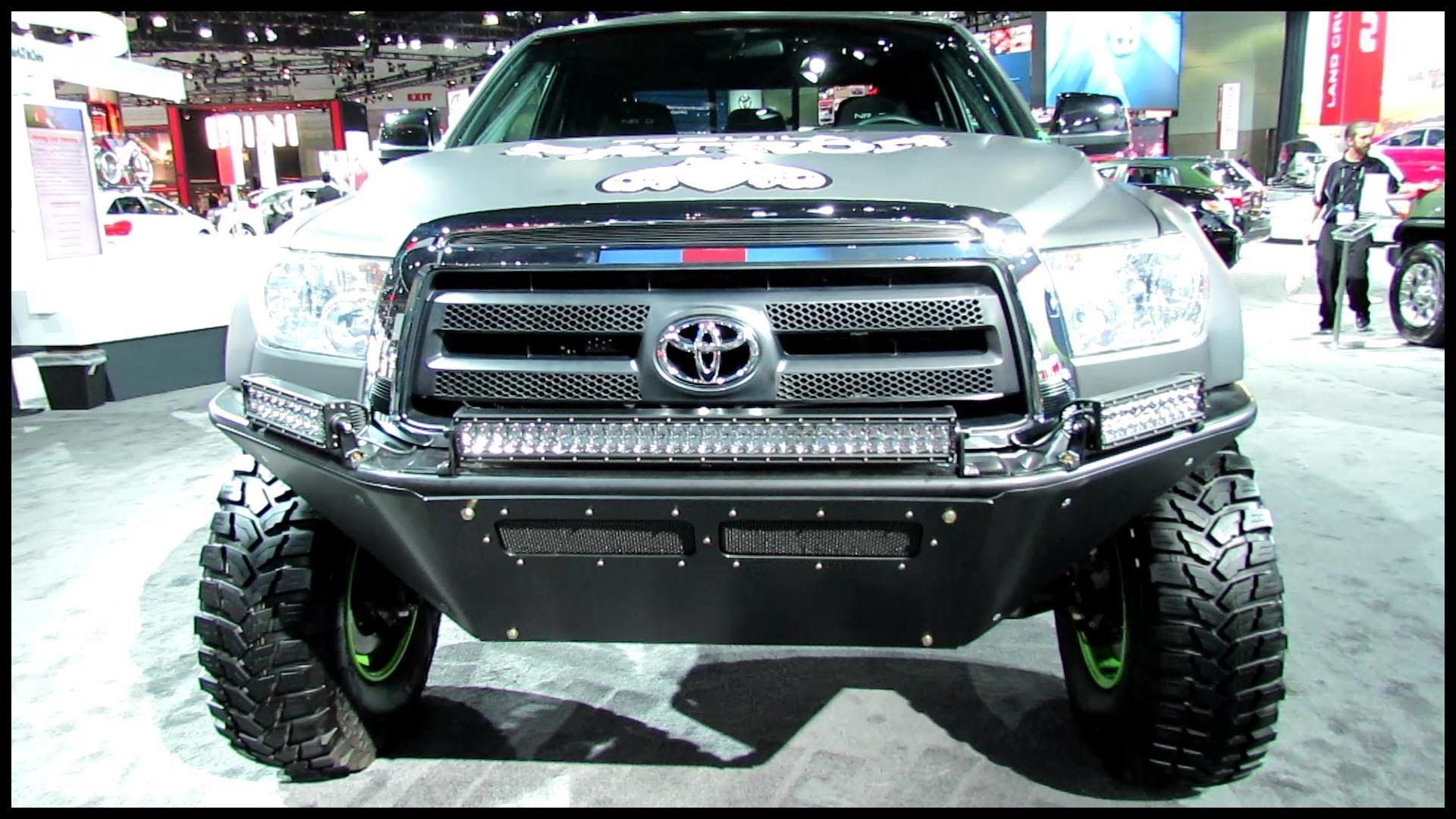 2012 Toyota Tundra Custom Exterior Walkaround 2012 Los Angeles Auto Show