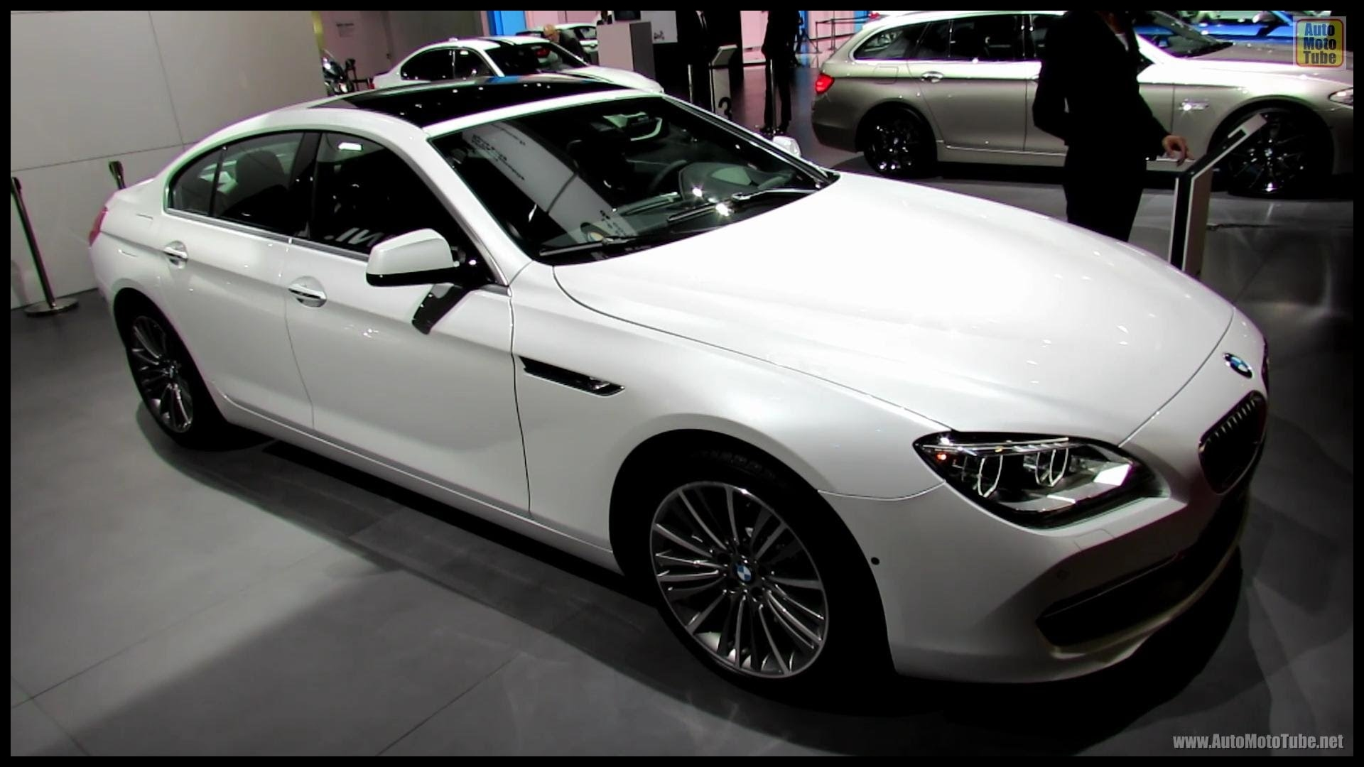 2013 BMW 650i xDrive Gran Coupe Exterior and Interior Walkaround 2012 Paris Auto Show