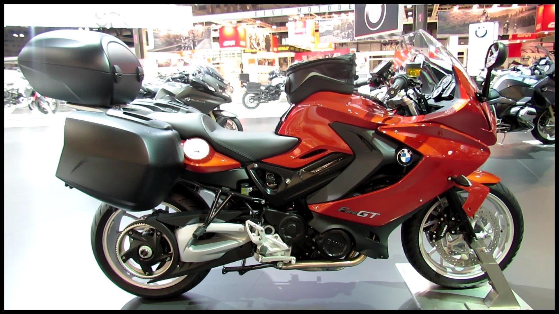 2014 BMW F800GT Accessoire Walkaround 2013 EICMA Milano Motorcycle Exhibition
