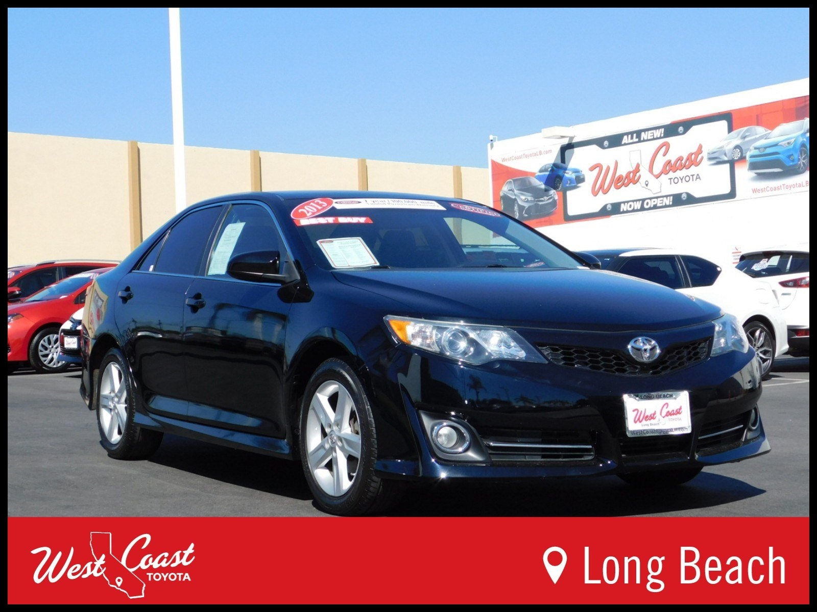 Certified Pre Owned 2013 Toyota Camry SE