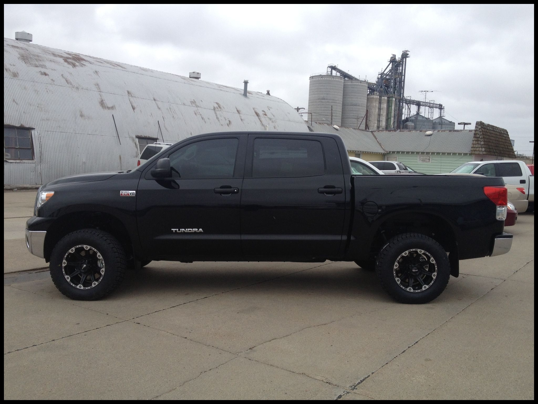 News Our 2013 Tundra 2 1 2 1 Leveling Kit Dick Cepek torque Wheels New Exterior