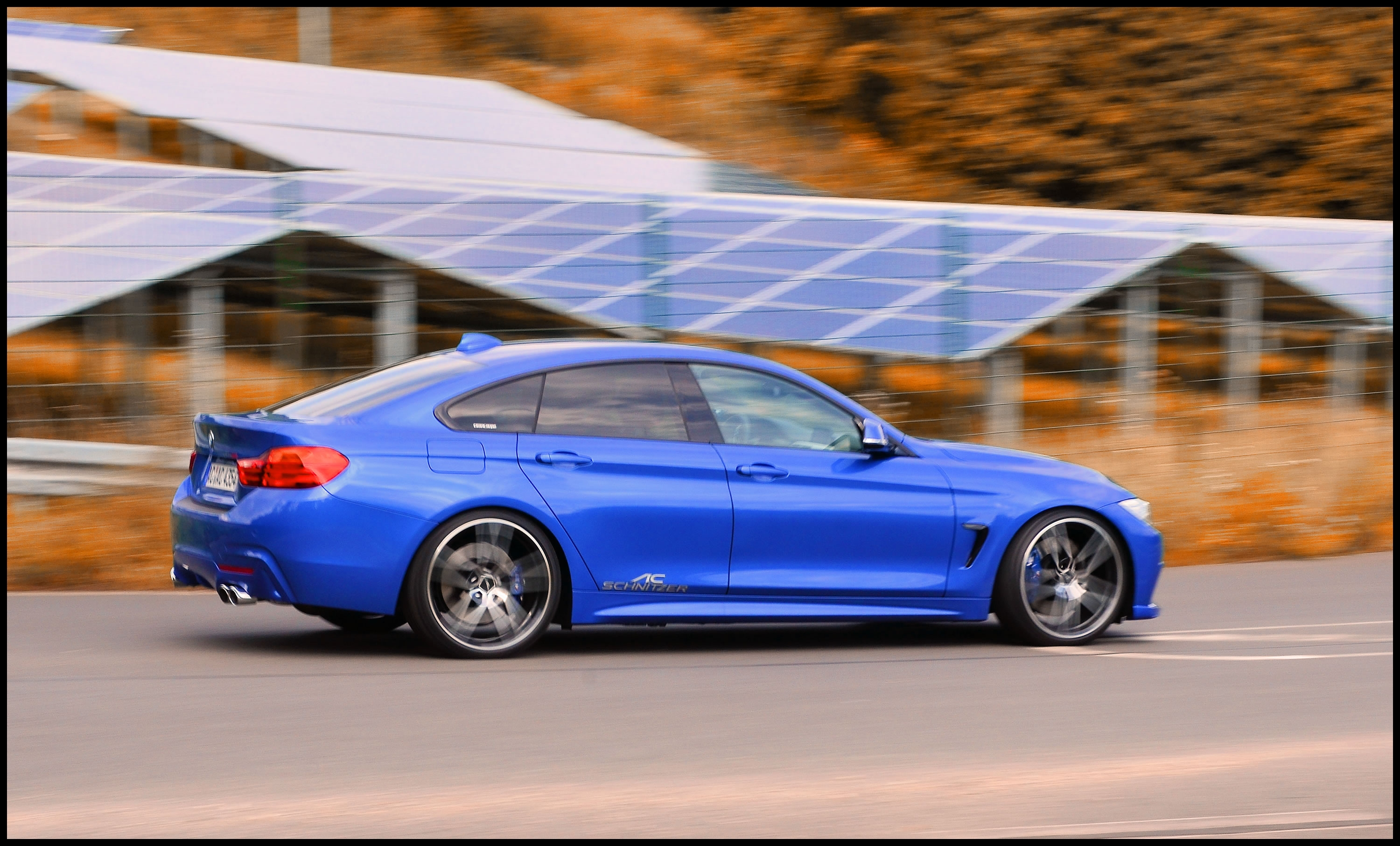 The AC Schnitzer suspension spring kit lowers the 4 Series by up to 25 mm