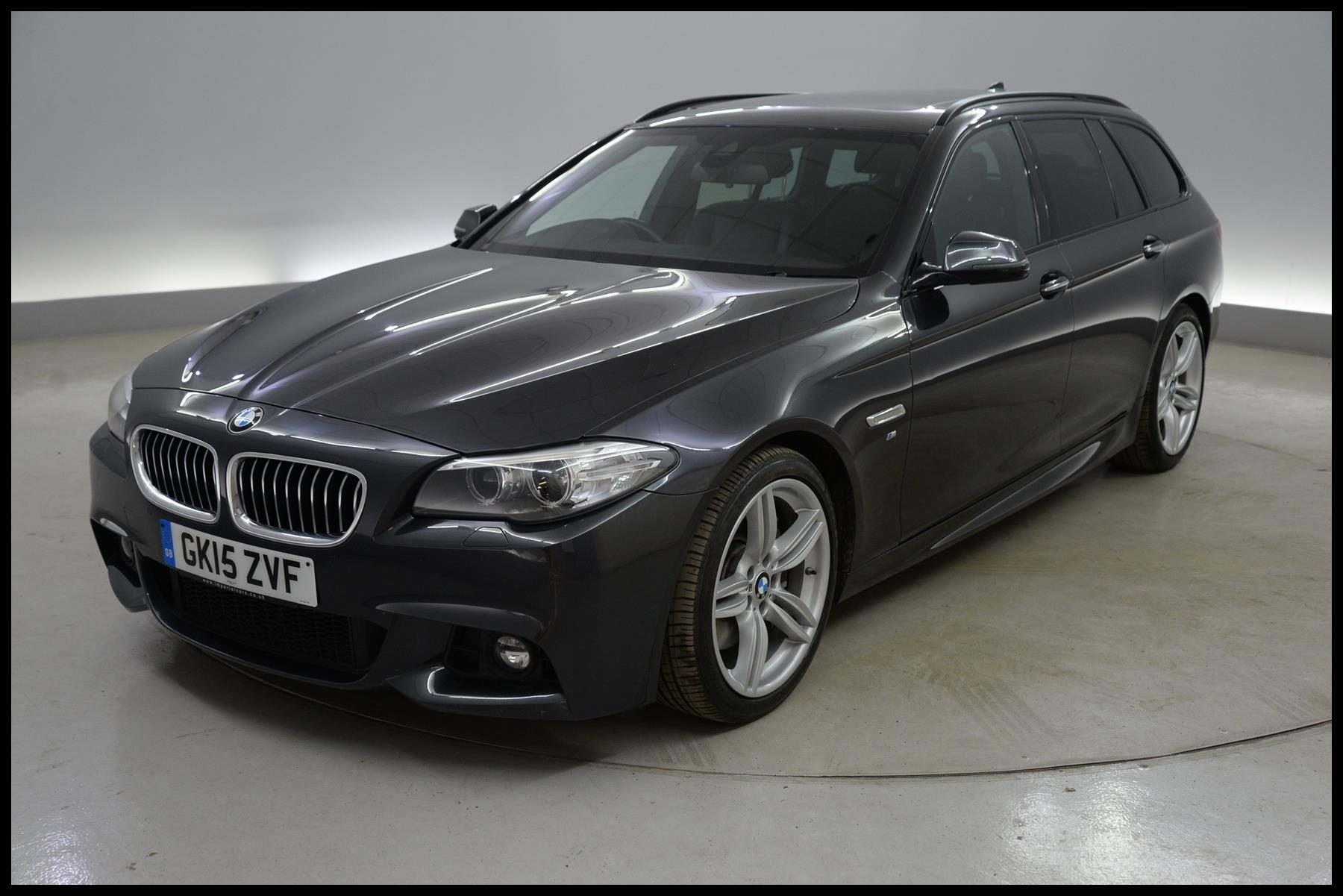 Used 2015 BMW 5 Series 535i M Sport 5dr Step Auto PAN ROOF HARMAN KARDON REVERSE CAM for sale in Southampton