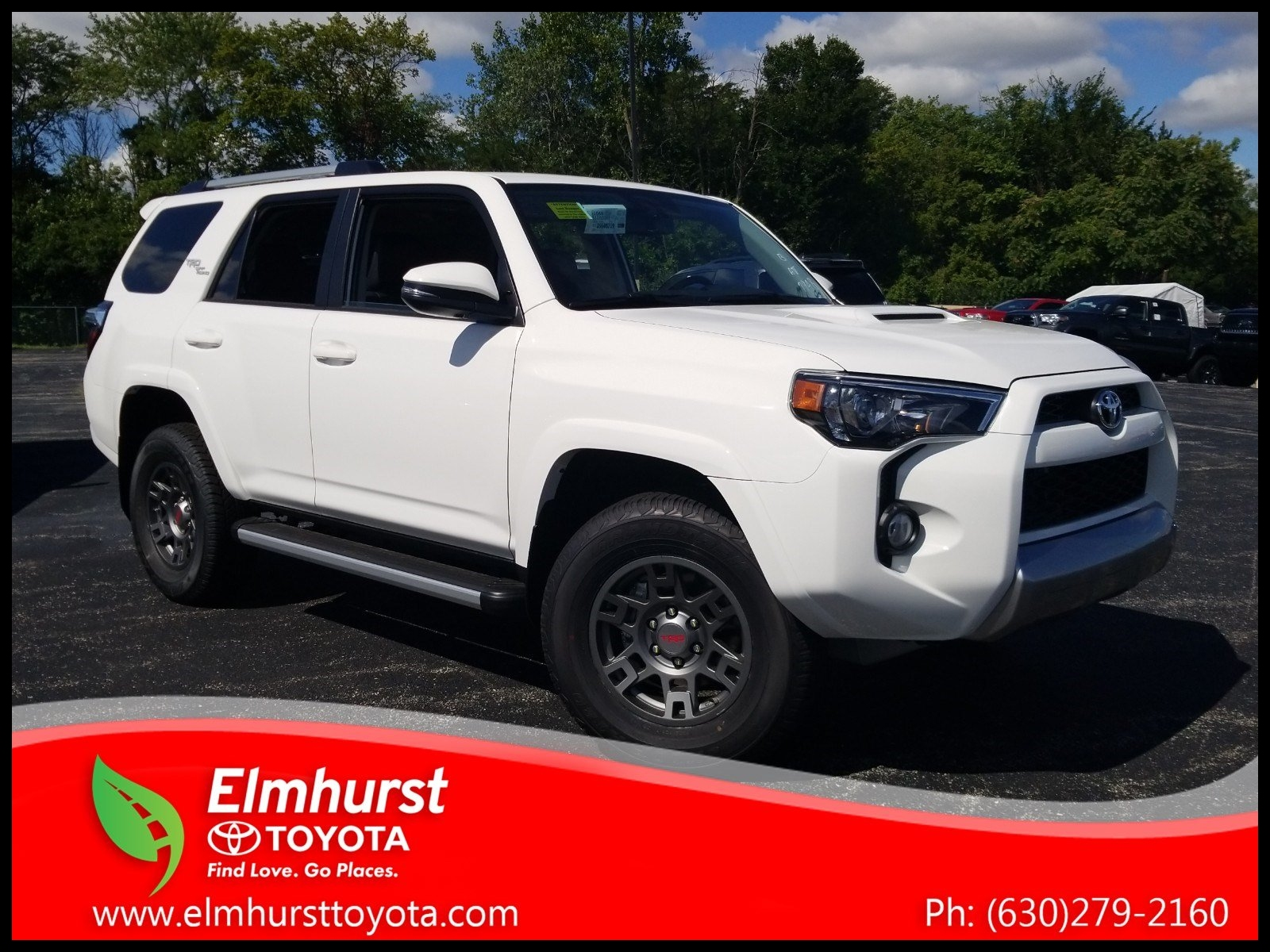 New 2018 Toyota 4Runner TRD f Road Premium