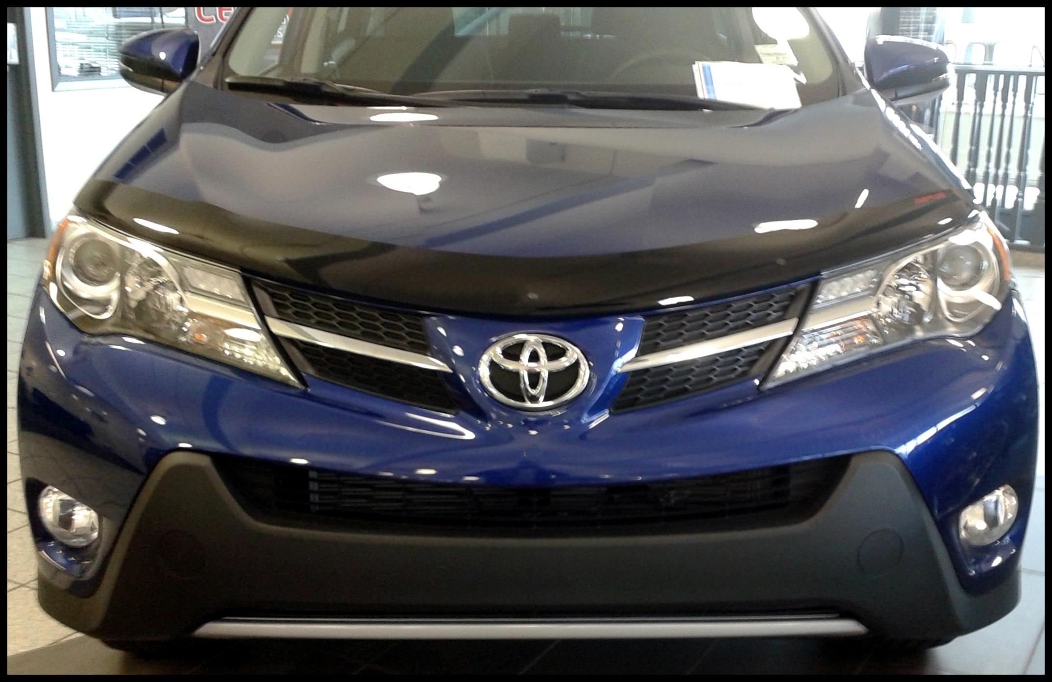 Toyota Rav4 2013 2018 RapideFit Hood Protector