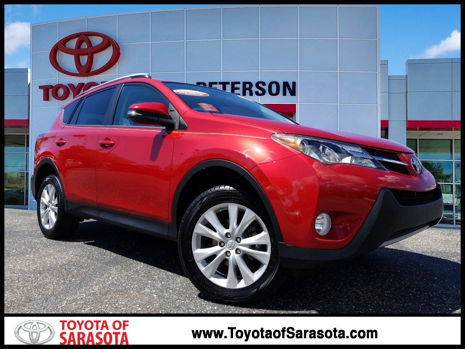 Certified Pre Owned 2014 Toyota RAV4 Limited