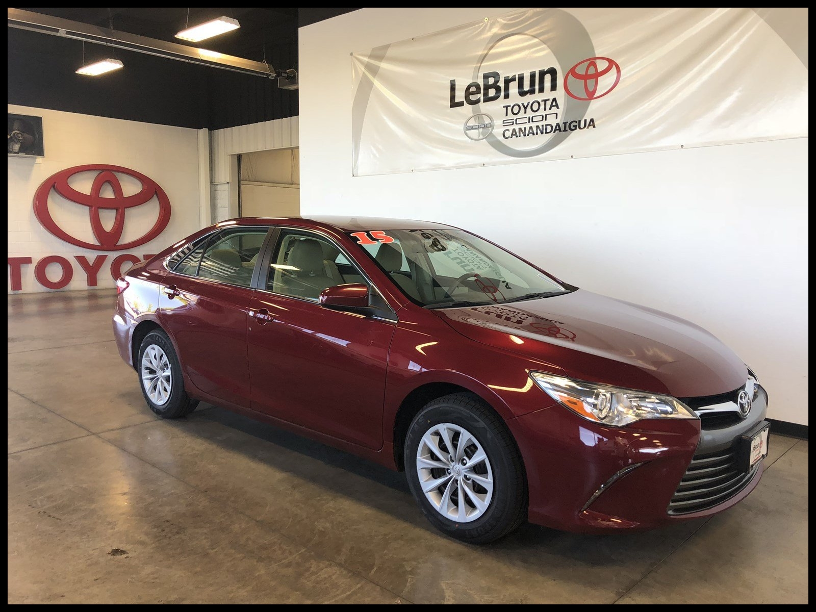 New Pre Owned 2015 toyota Camry Le 4dr Car T A New Exterior