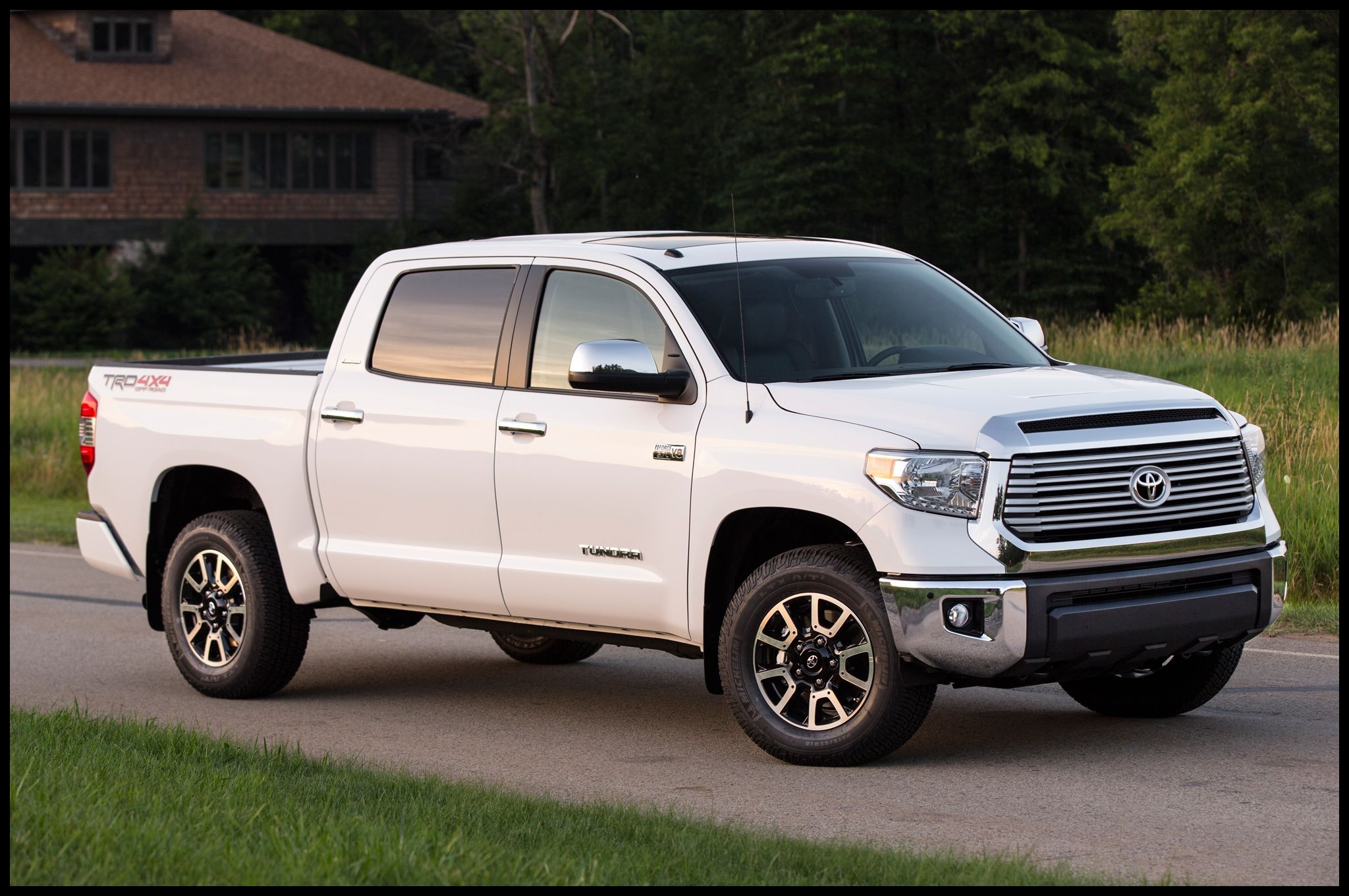 Toyota and its beleaguered design staff needed to try something anything with the 2014 Tundra Customers automotive critics and little old la s in