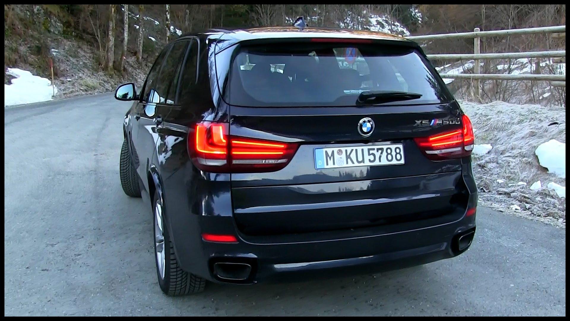 2016 BMW X5 M50d xDrive 381 HP TEST DRIVE