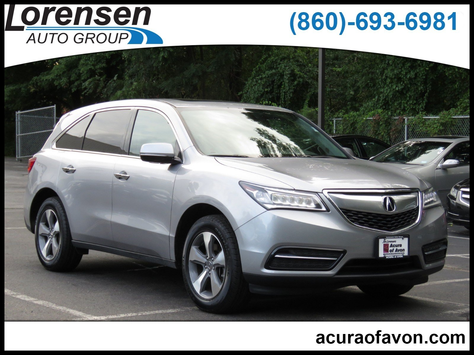 Pre Owned 2016 Acura MDX SH AWD 4dr