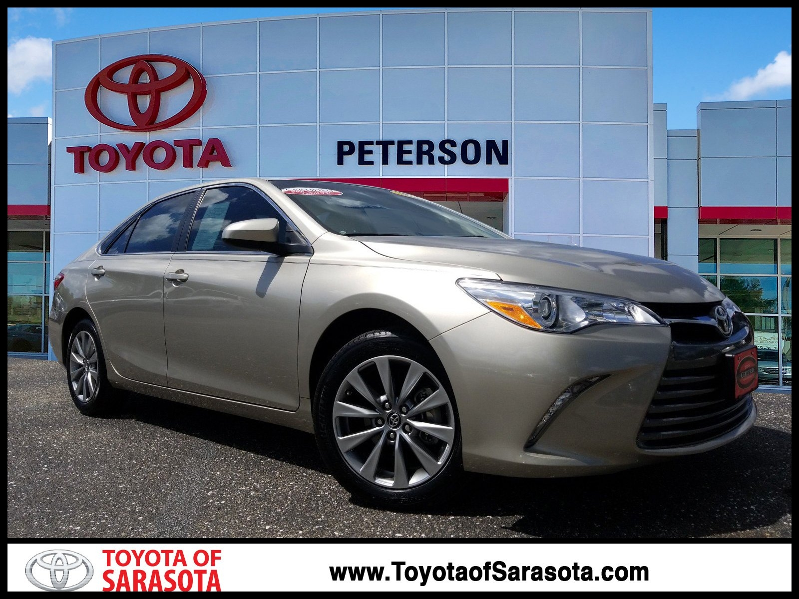 Certified Pre Owned 2017 Toyota Camry XLE