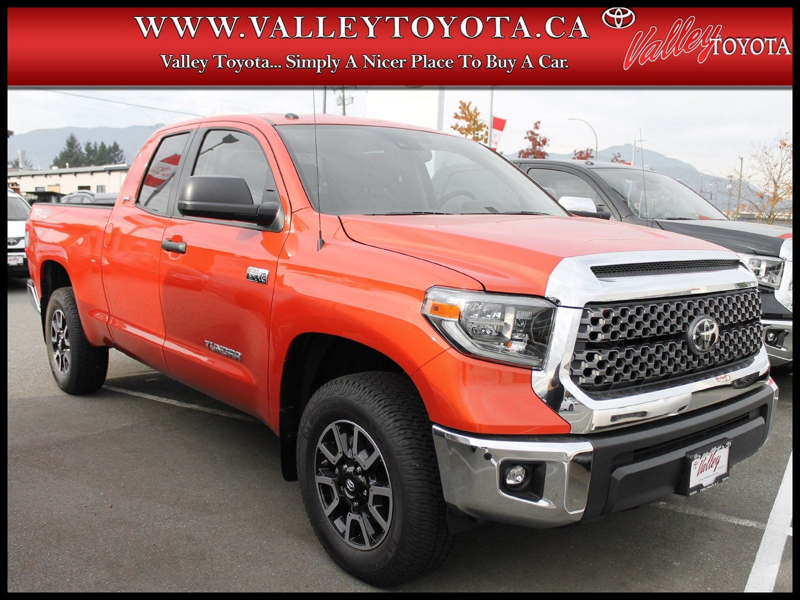 News New 2018 toyota Tundra Trd F Road Double Cab In Chilliwack Picture