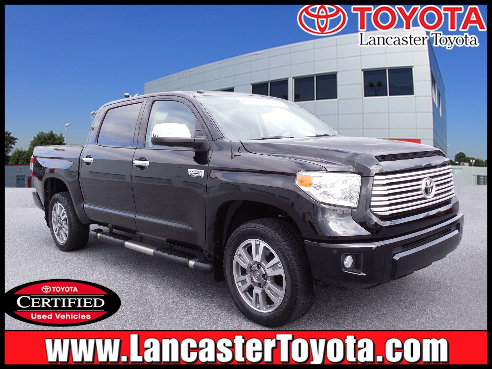 Certified Pre Owned 2017 Toyota Tundra Platinum