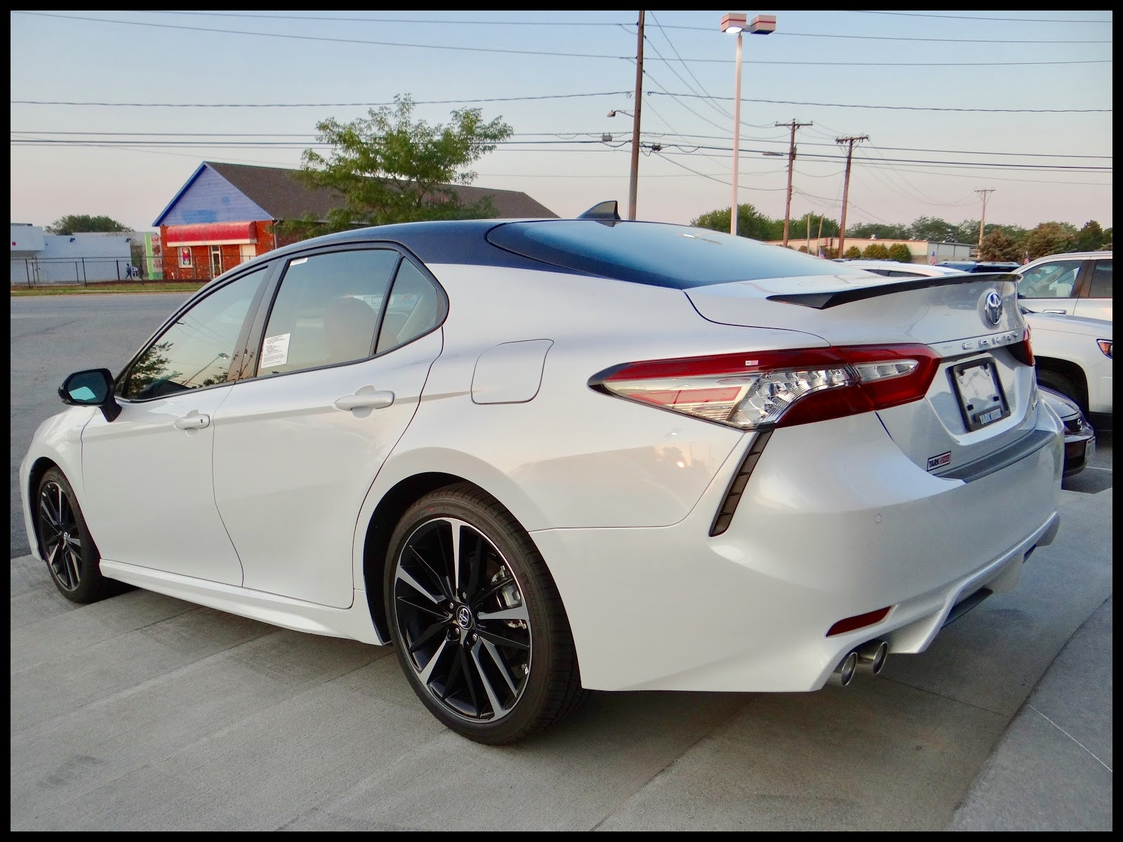 2018 toyota Camry Two tone Inspirational Quick Take 2018 toyota Camry Xse V6 Camry=desire