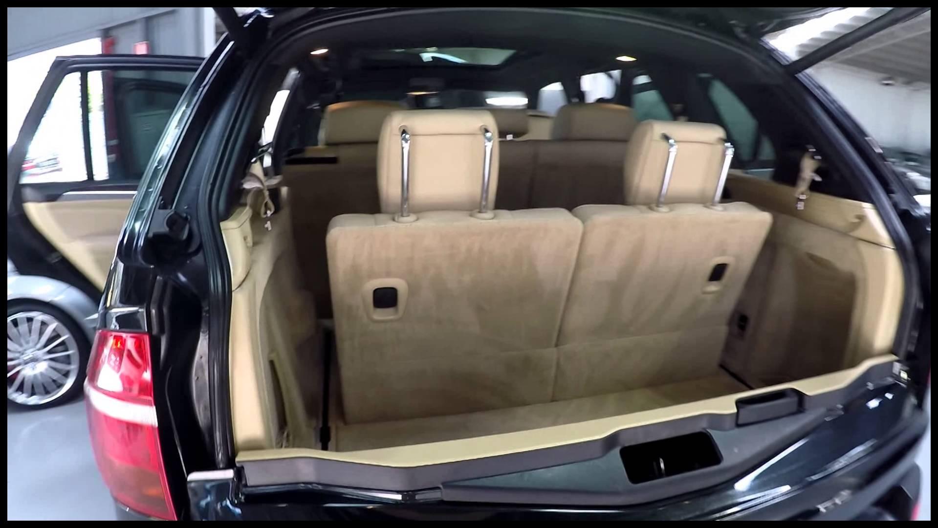 BMW X5 3 0D Sport 2008 7 seater black