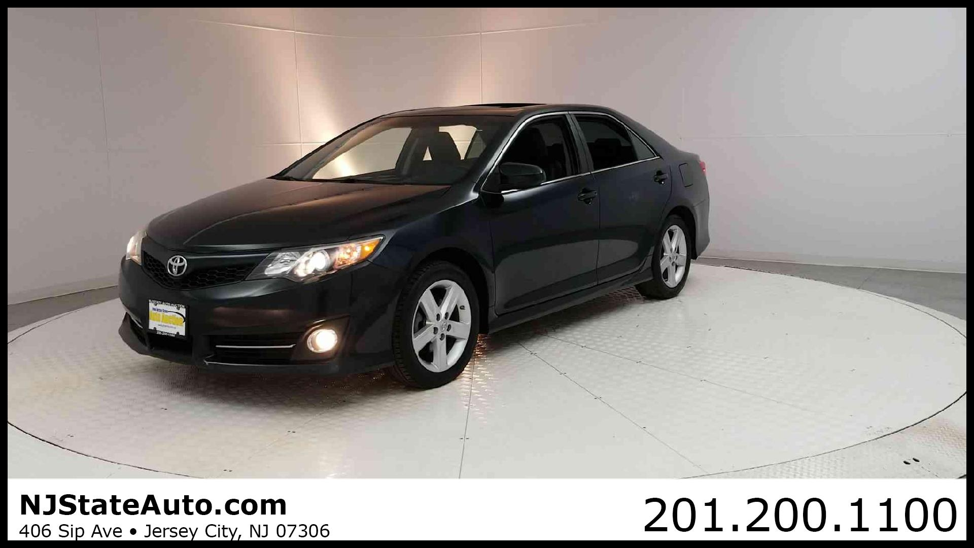 2013 Used Toyota Camry 4dr Sedan I4 Automatic SE at New Jersey State Auto Auction Serving Jersey City NJ IID