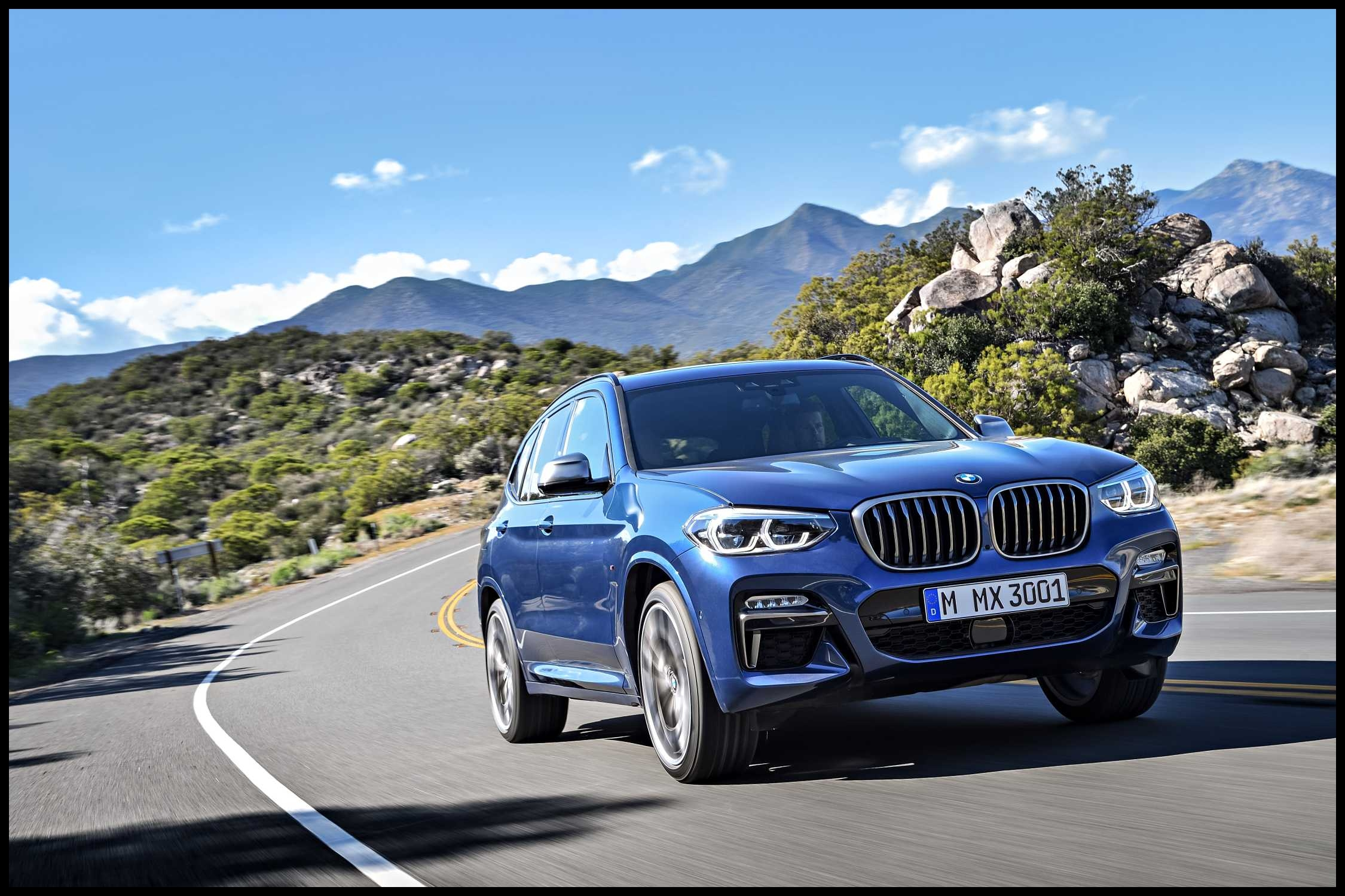 P the new bmw x3 xdrive m40i exterior color phytonic blue metallic upholstery leder vernasca cognac 06 2250px