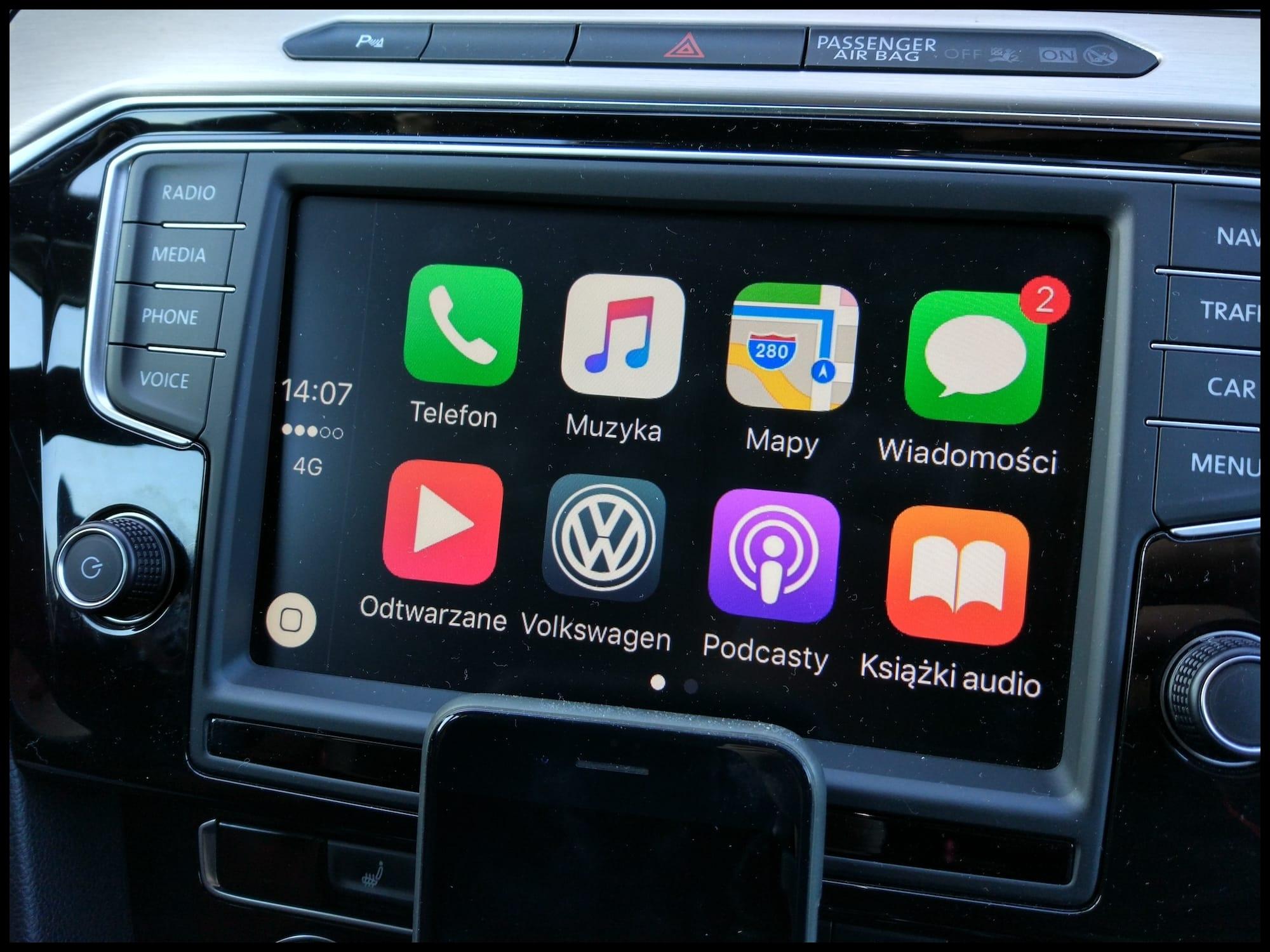 Szeroko dostępny bezprzewodowy CarPlay coraz bliżej