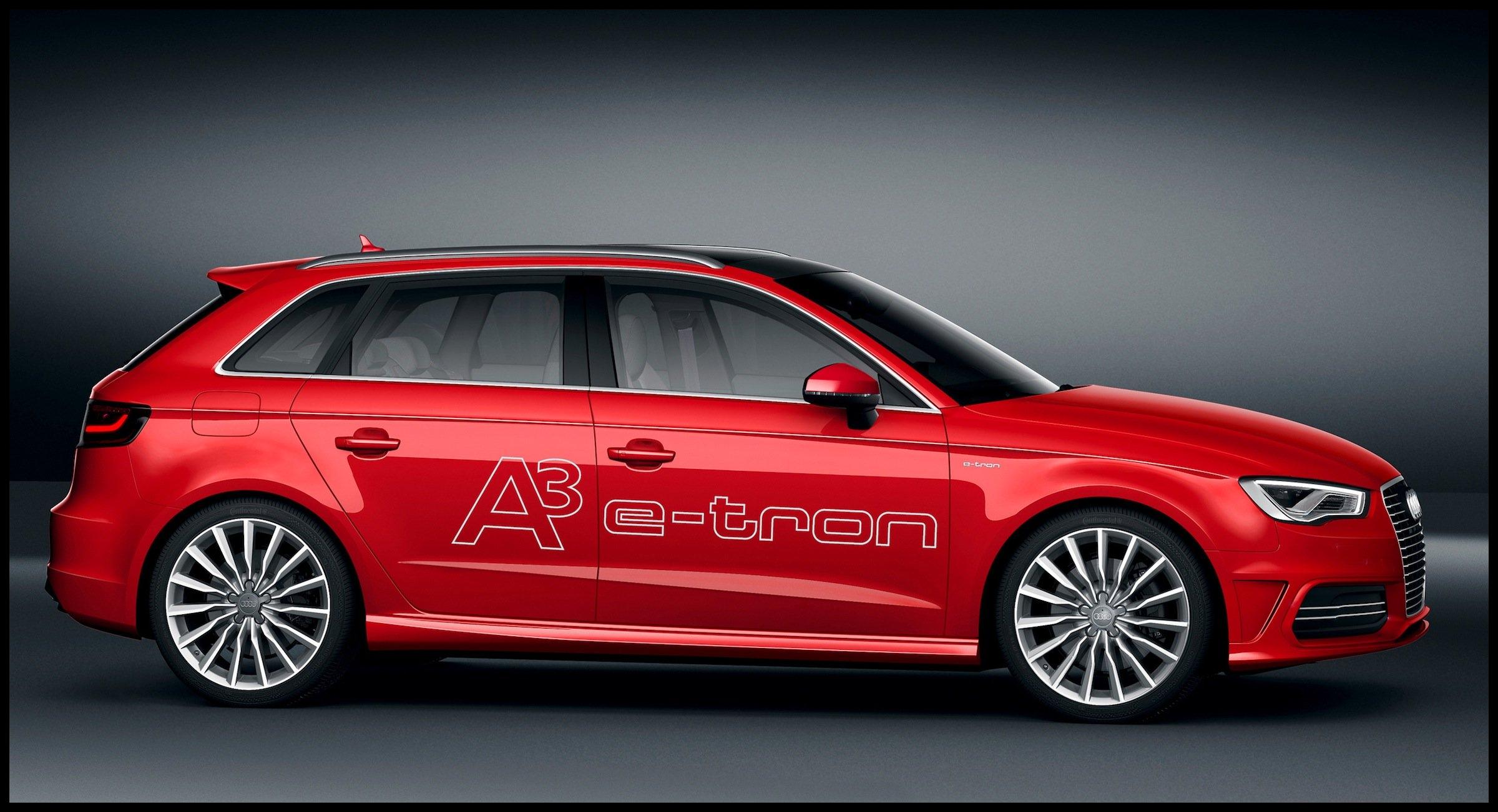 Audi A3 e tron concept nails 1 5L 100km fuel economy