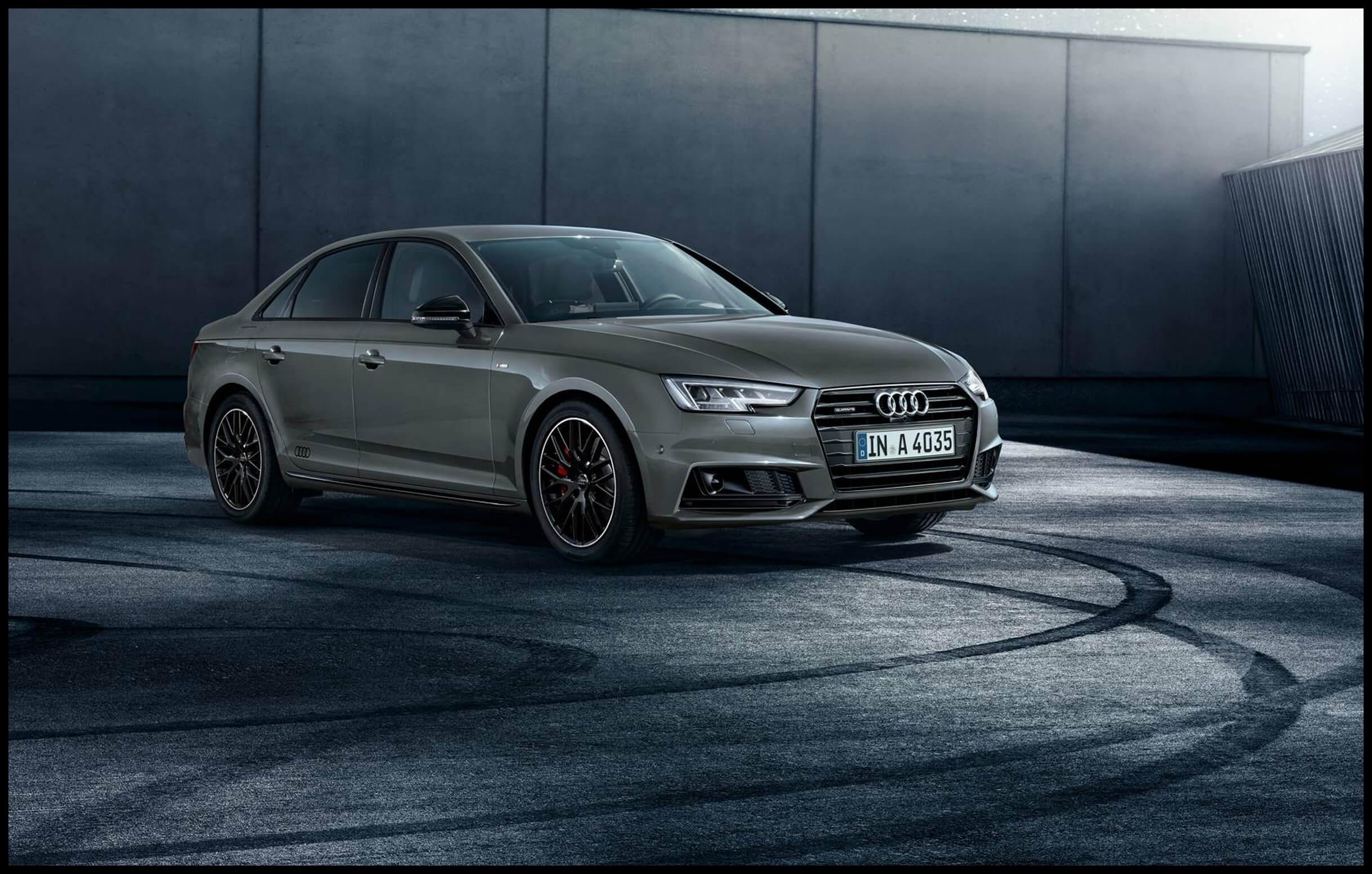 Audi A4 Saloon Black Edition trim