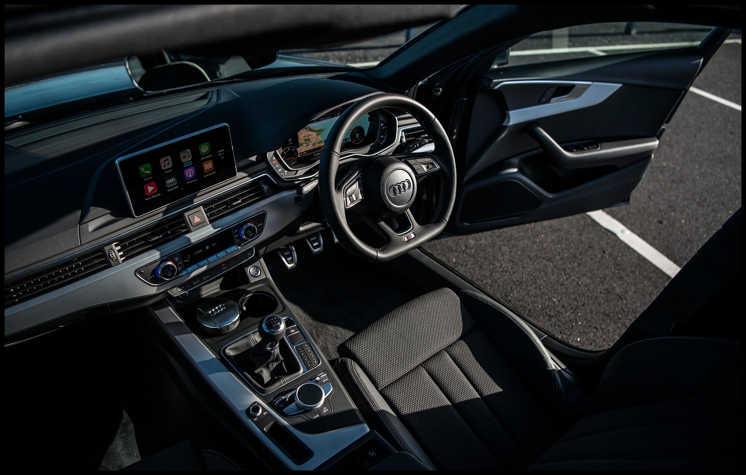 All new A4 Avant Interior