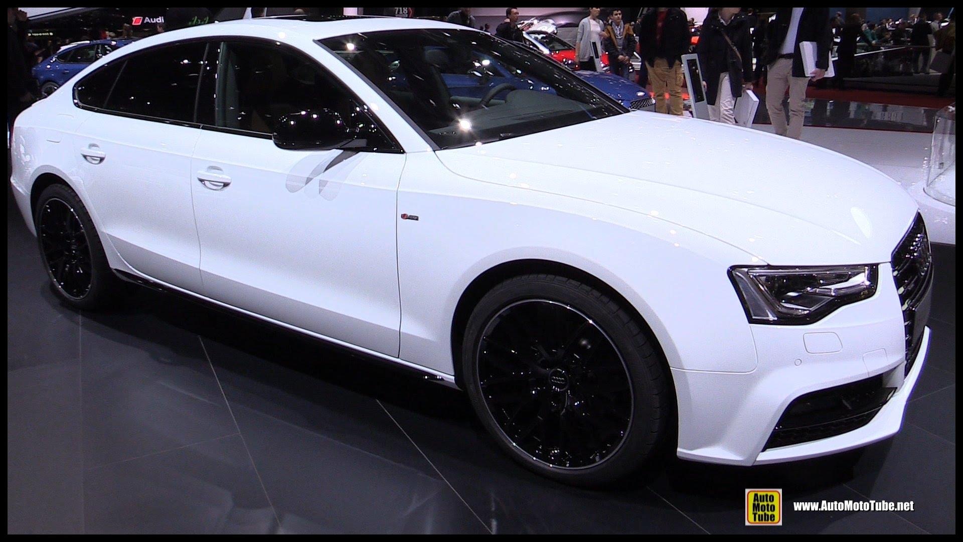 2016 Audi A5 Sportback 2 0 TDI Quattro Exterior and Interior Walkaround 2016 Geneva Motor Show