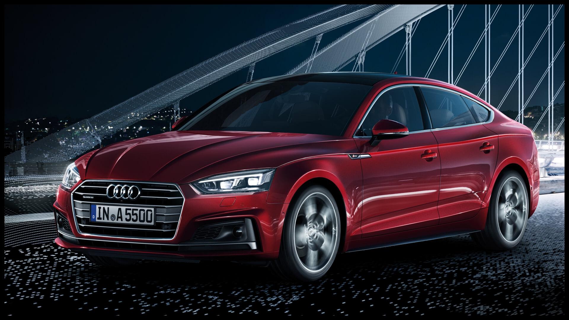 All new Audi A5 Sportback