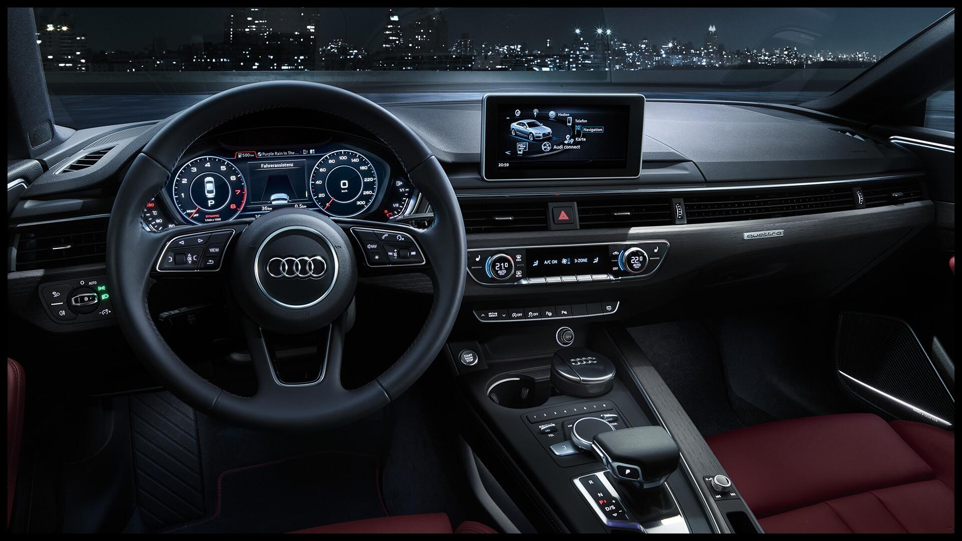 All new Audi A5 Sportback driver seat