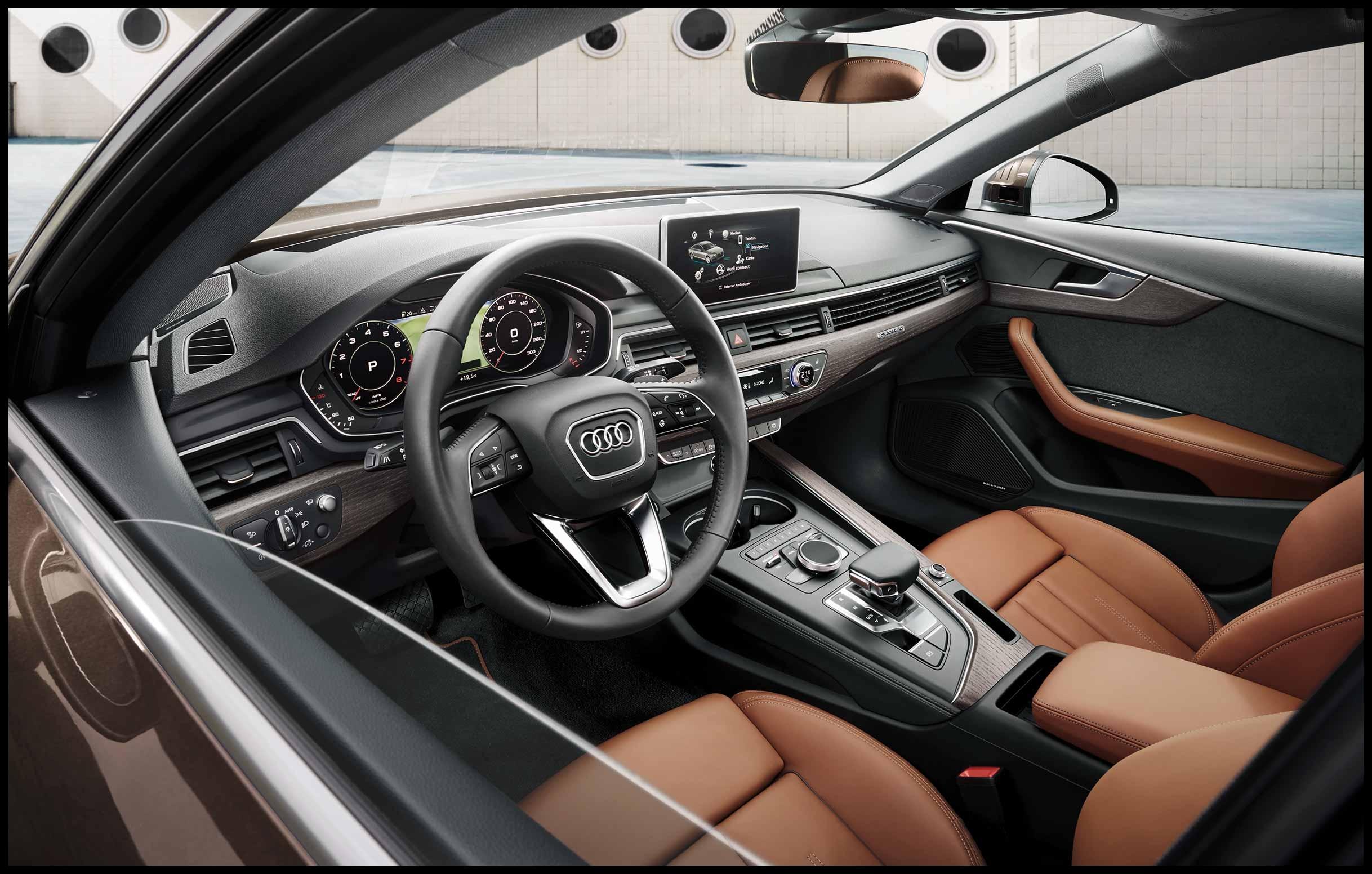 Audi A4 Saloon interior