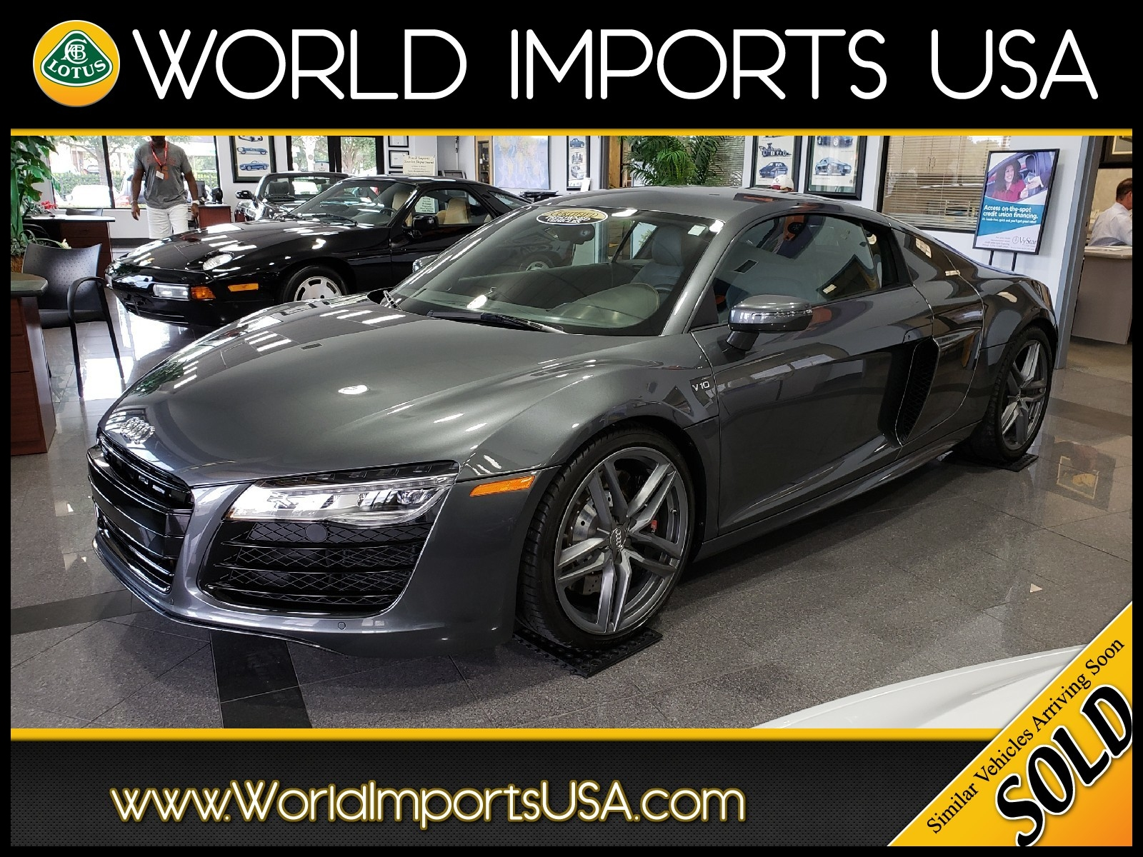 Used 2014 Audi R8 V10 Coupe Msrp $175 950 00 For Sale in Jacksonville FL World Imports USA Serving San Marco Ponte Vedra Beach & Palm Valley
