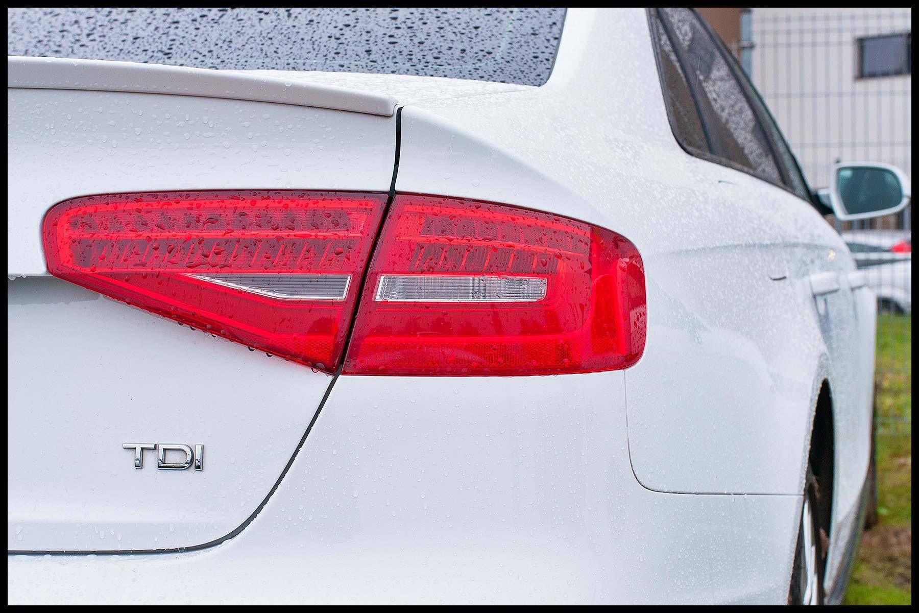 Audi sel with a TDI badge