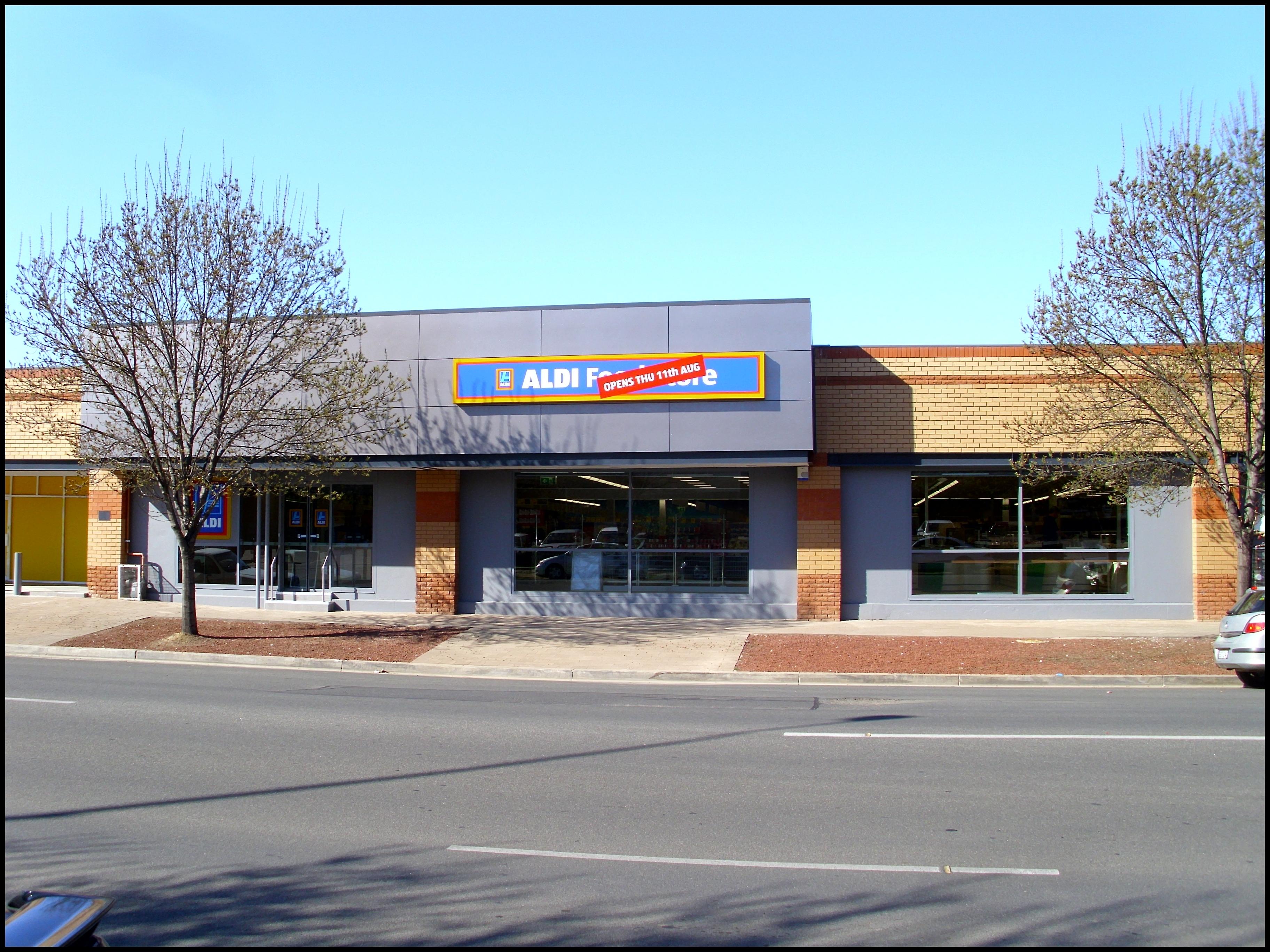 File Aldi Food Store at the Riverina Plaza in Wagga Wagga