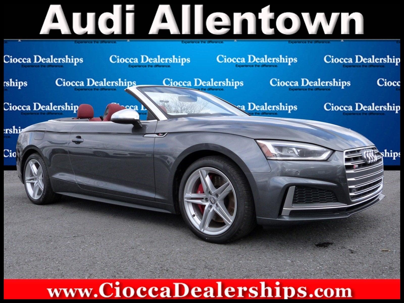 New 2018 Audi S5 3 0T Premium Plus For Sale Lease Allentown PA