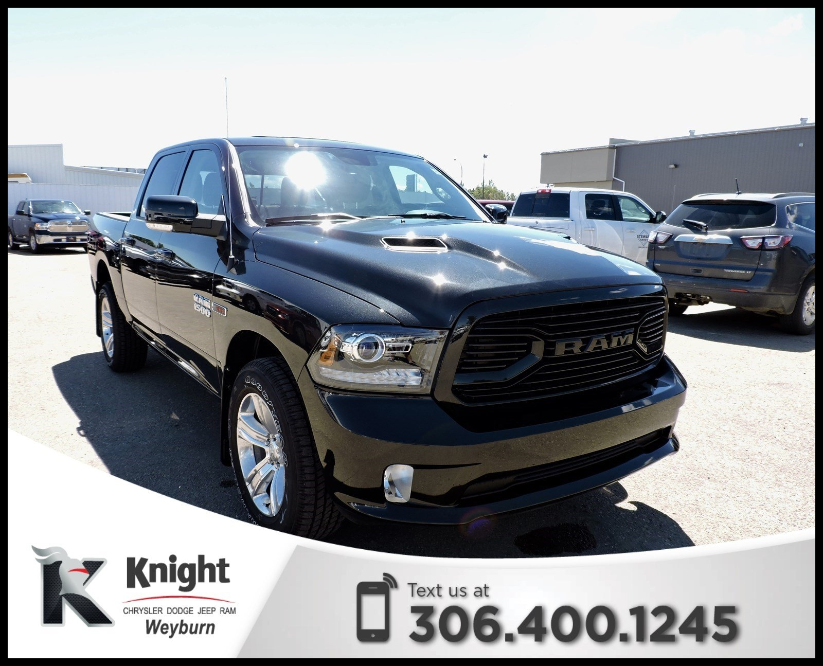 New 2018 Ram 1500 Sport Heated Cooled Leather Back Up Cam NAV Remote Start