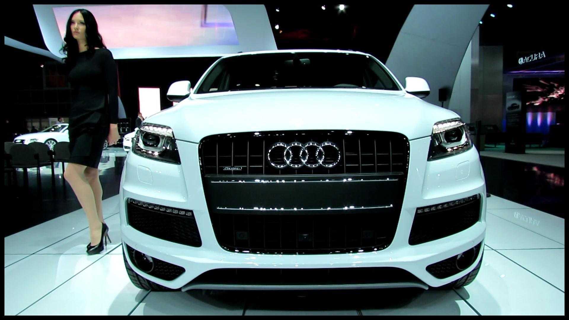 2013 Audi Q7 TDI Quattro Exterior and Interior Walkaround 2012 Los Angeles Auto Show