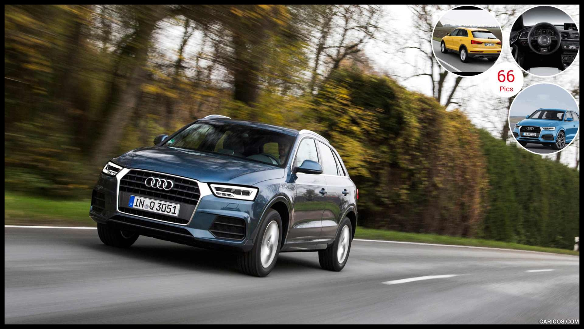 2015 Audi Q3 Utopia Blue Front 64 of 66