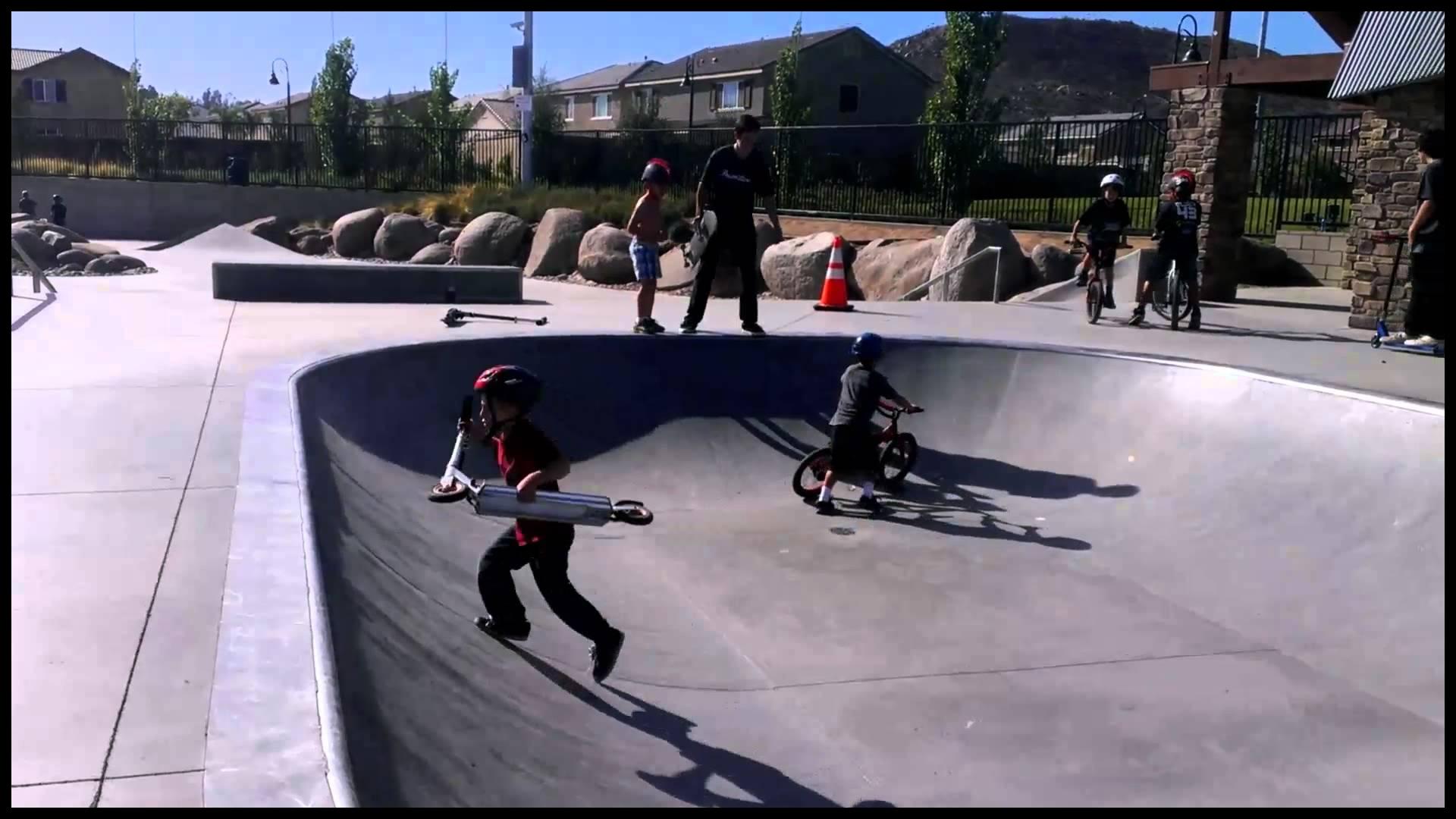 Au Murphie Skatepark Menifee CA