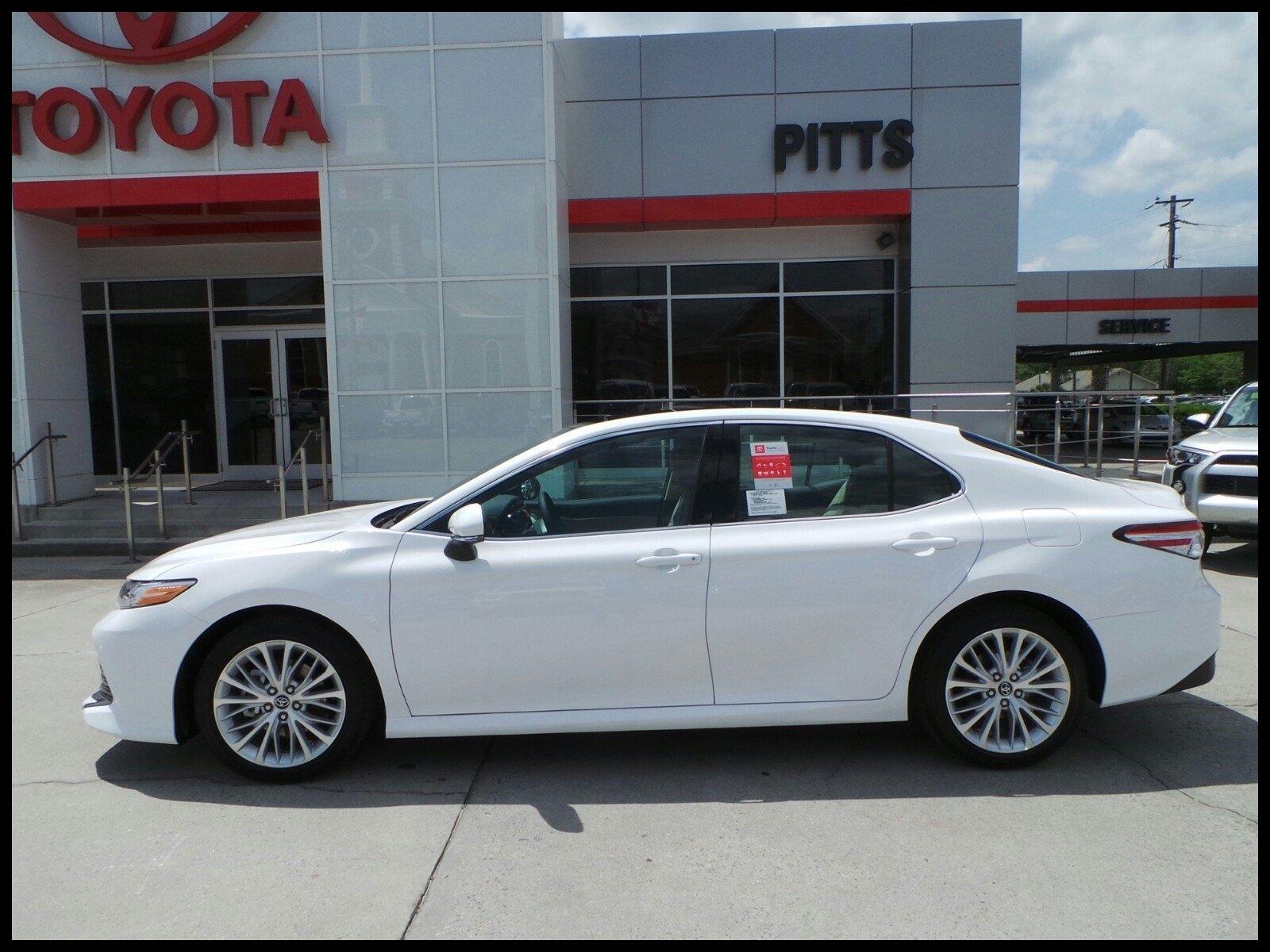 New 2018 Toyota Camry XLE V6
