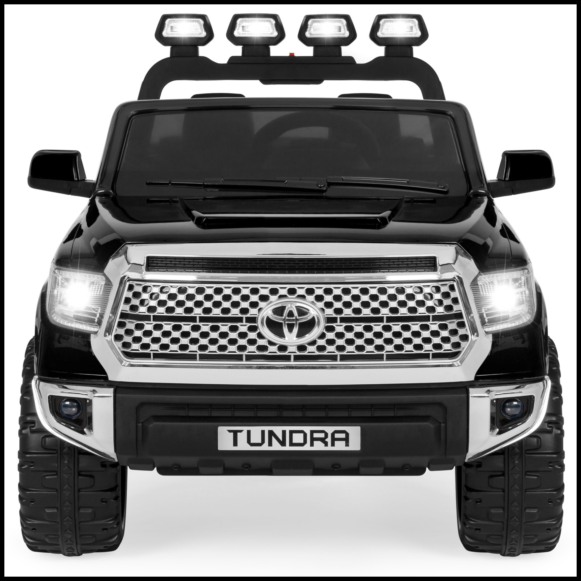 Best Choice Products 12V Kids Battery Powered Remote Control Toyota Tundra Ride Truck Black