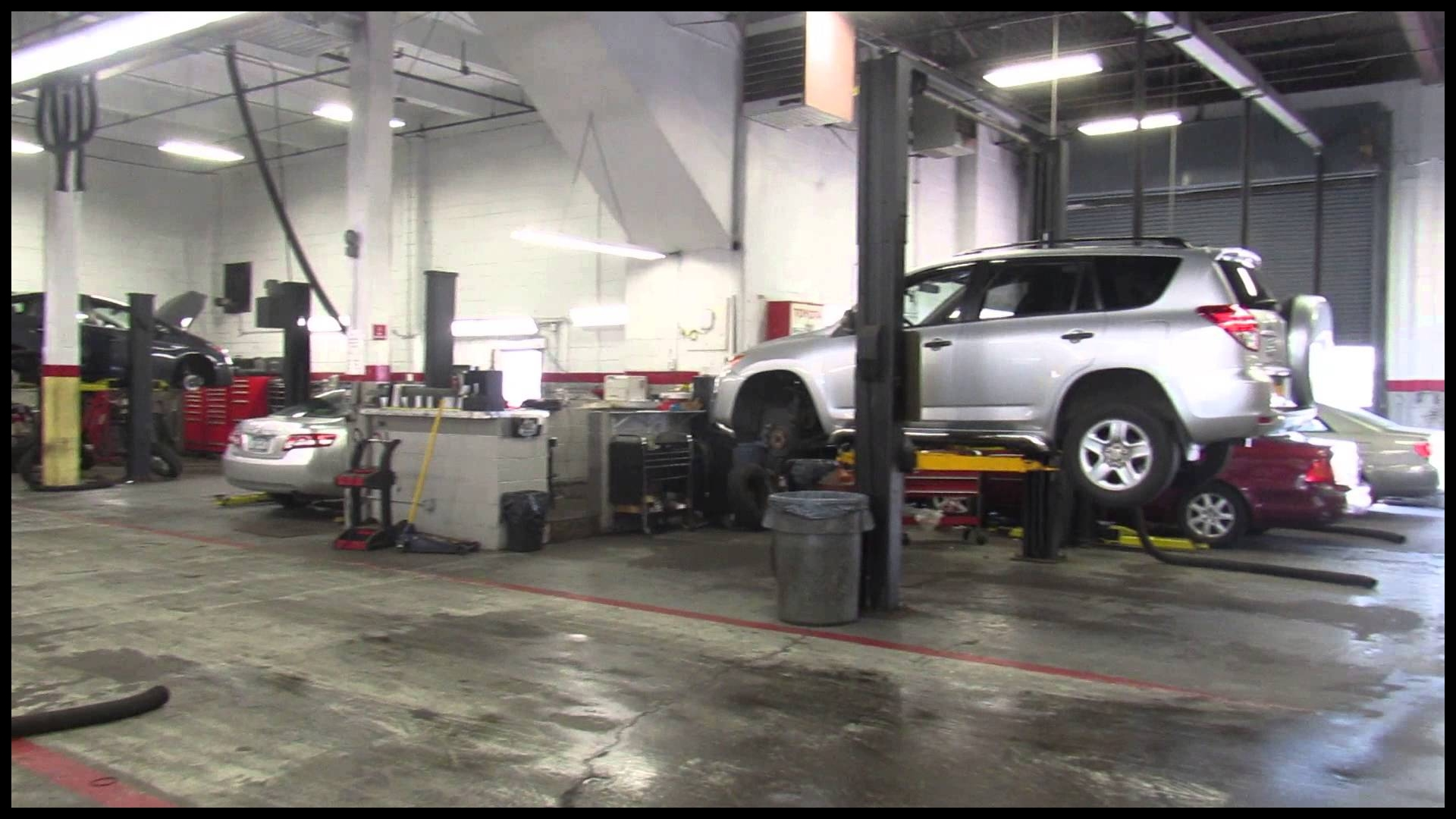 Behind the scenes Bay Ridge Toyota Service Center