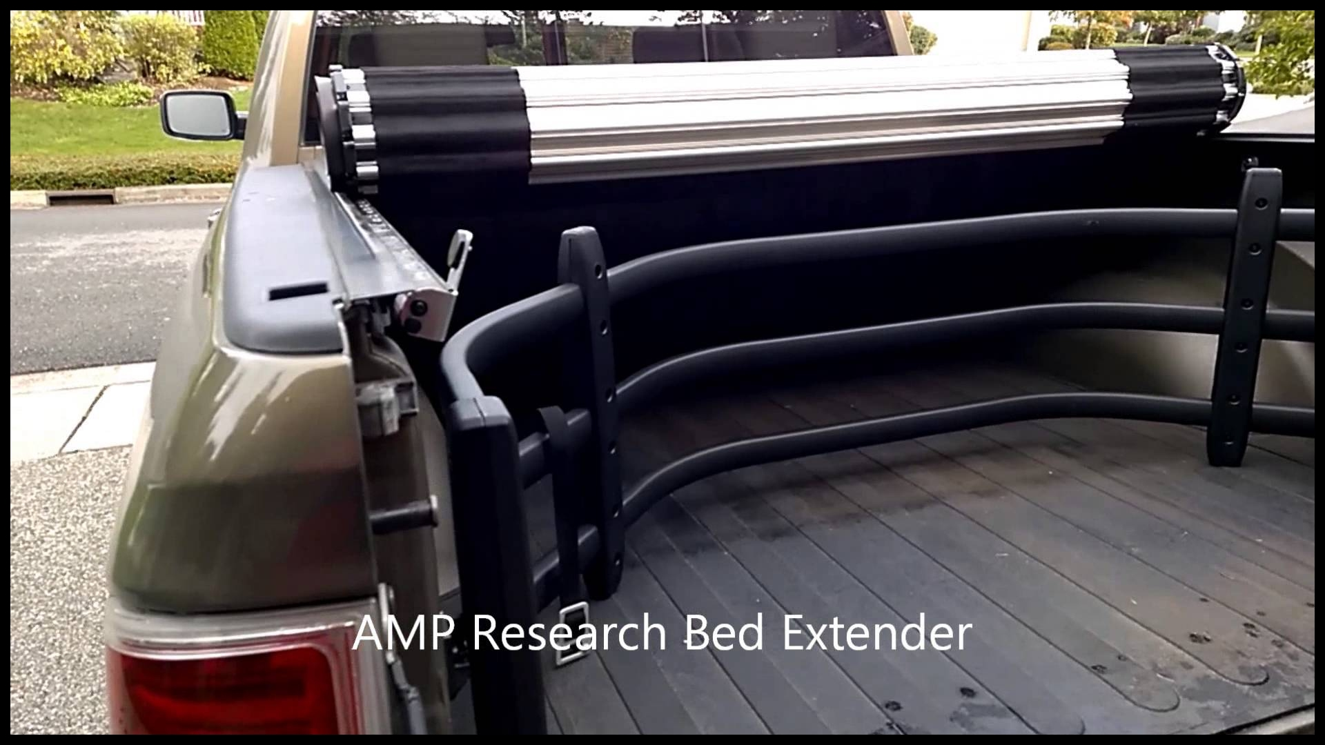 BAK Industries Roll X Tonneau Cover & AMP Research Bed Extender patibility fix