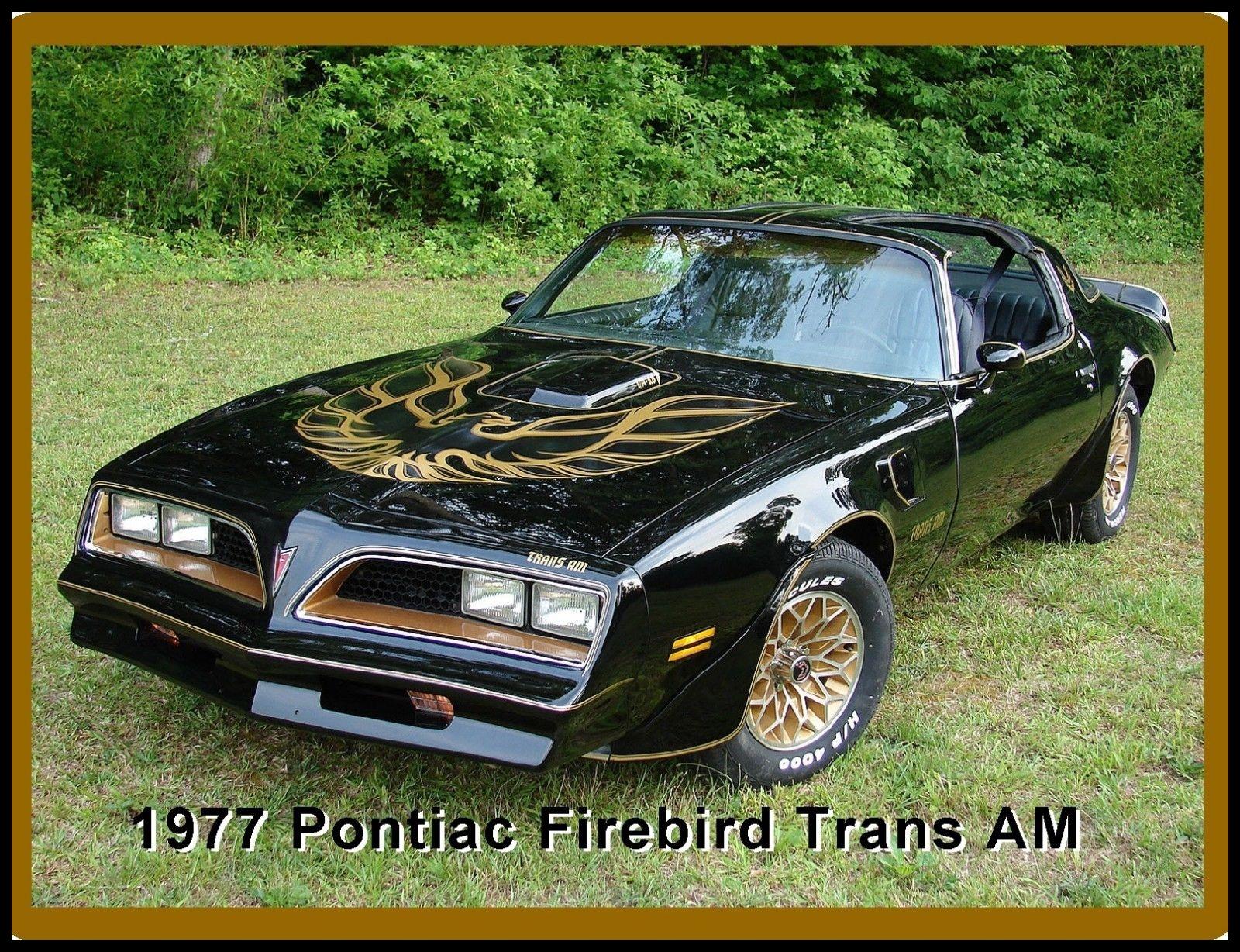 $5 5 1977 Pontiac Firebird Trans Am Auto Car Refrigerator Tool Box Magnet ebay Collectibles
