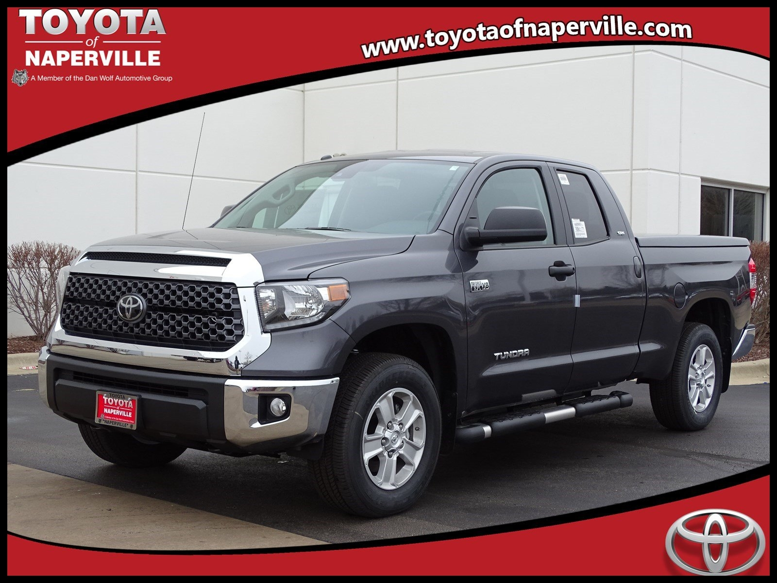 Top New 2018 toyota Tundra Sr5 4d Double Cab In Naperville T Exterior