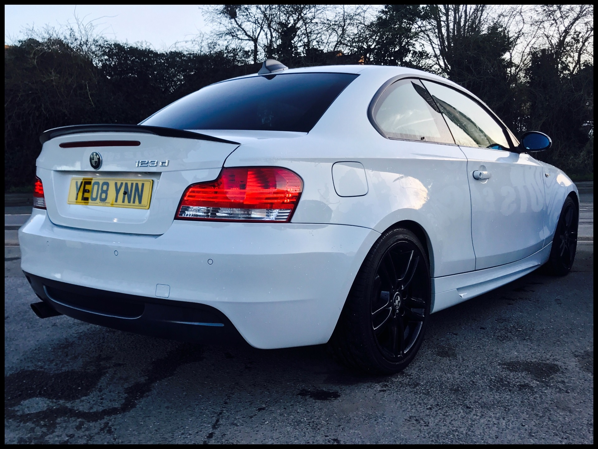 2008 08 BMW 1 Series 123d M Sport 2dr For Sale In Newton Abbot