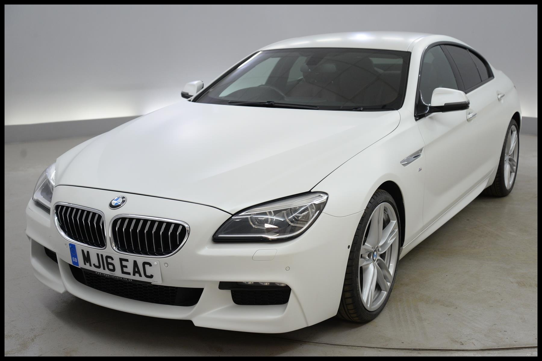 Used 2016 BMW 6 Series Gran Coupe 640d M Sport 4dr Auto NAPPA LEATHER HEAD UP DISPLAY FORT SEATS A for sale in Suffolk