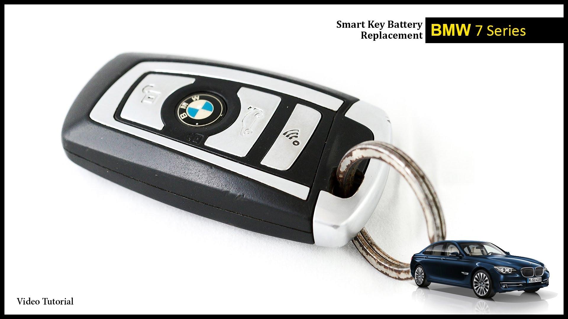 BMW 7 Series Smart Key Battery Change