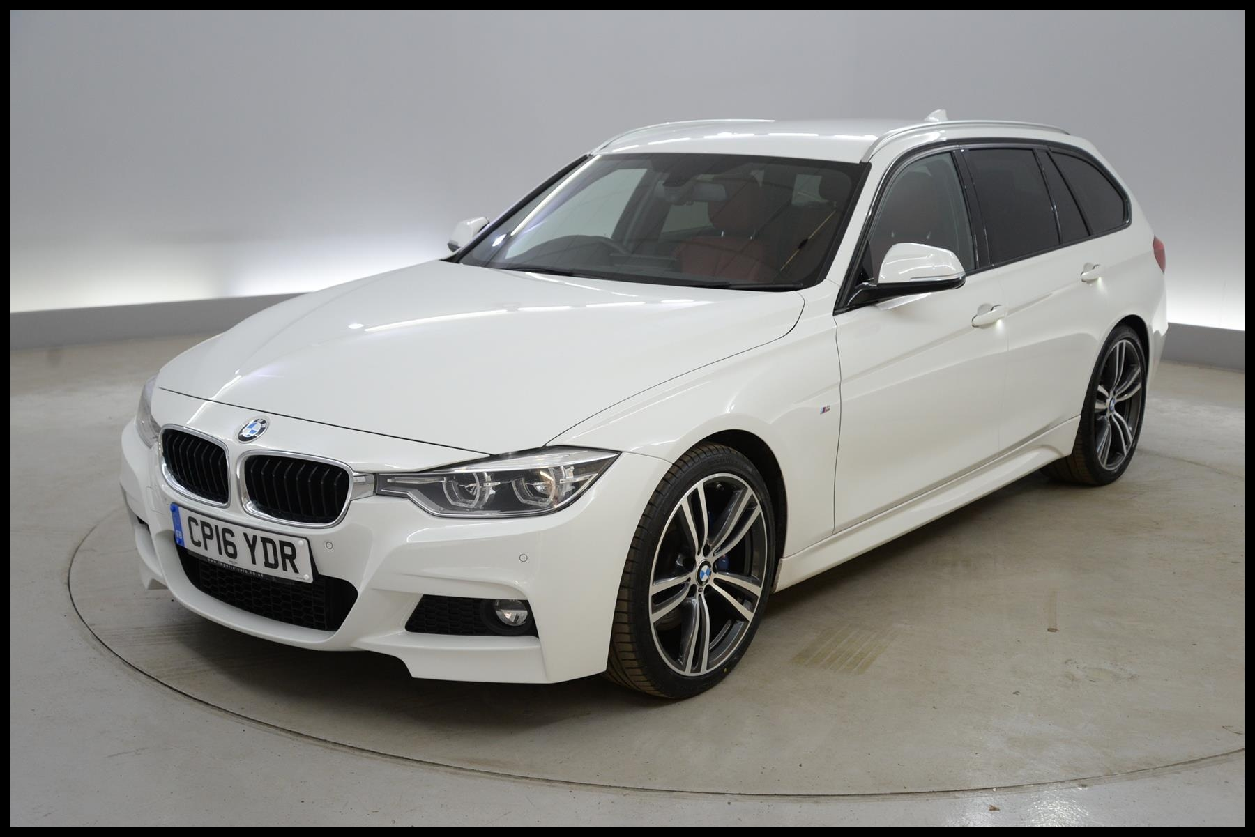 Used 2016 BMW 3 Series 320d M Sport 5dr Step Auto REVERSE CAM HEATED LEATHER PADDLE SHIFT for sale in Southampton