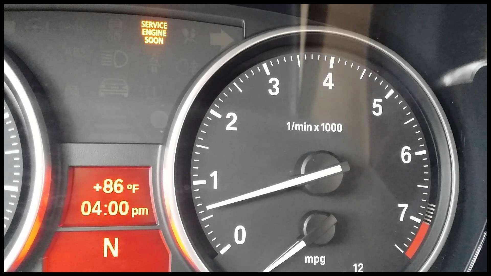Engine running rough and Check Engine Light on after BMW of Macon repair