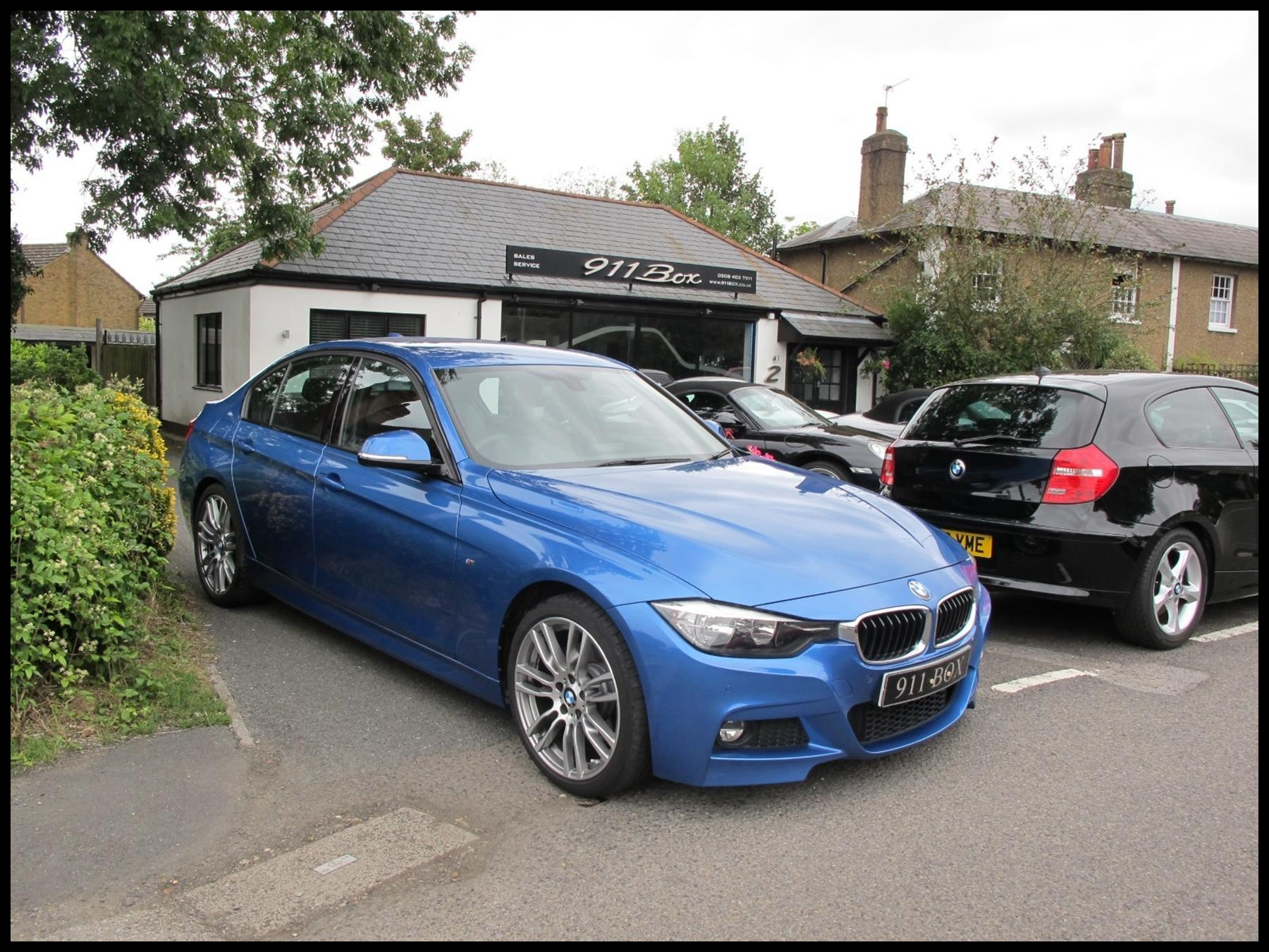 BMW 3 Series 330I M Sport 6 Speed Manual Sat Nav And Adaptive Suspension 2015