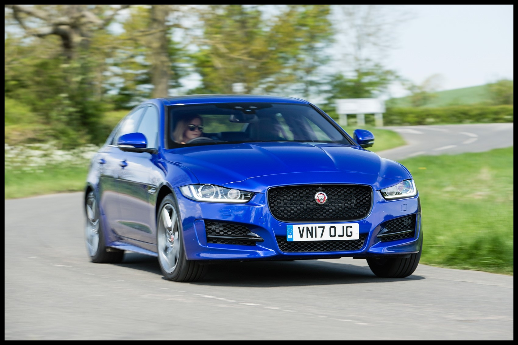 The new 2018 model year Jaguar XE the CAR magazine review